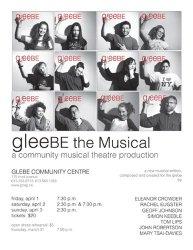 Gleebe Poster